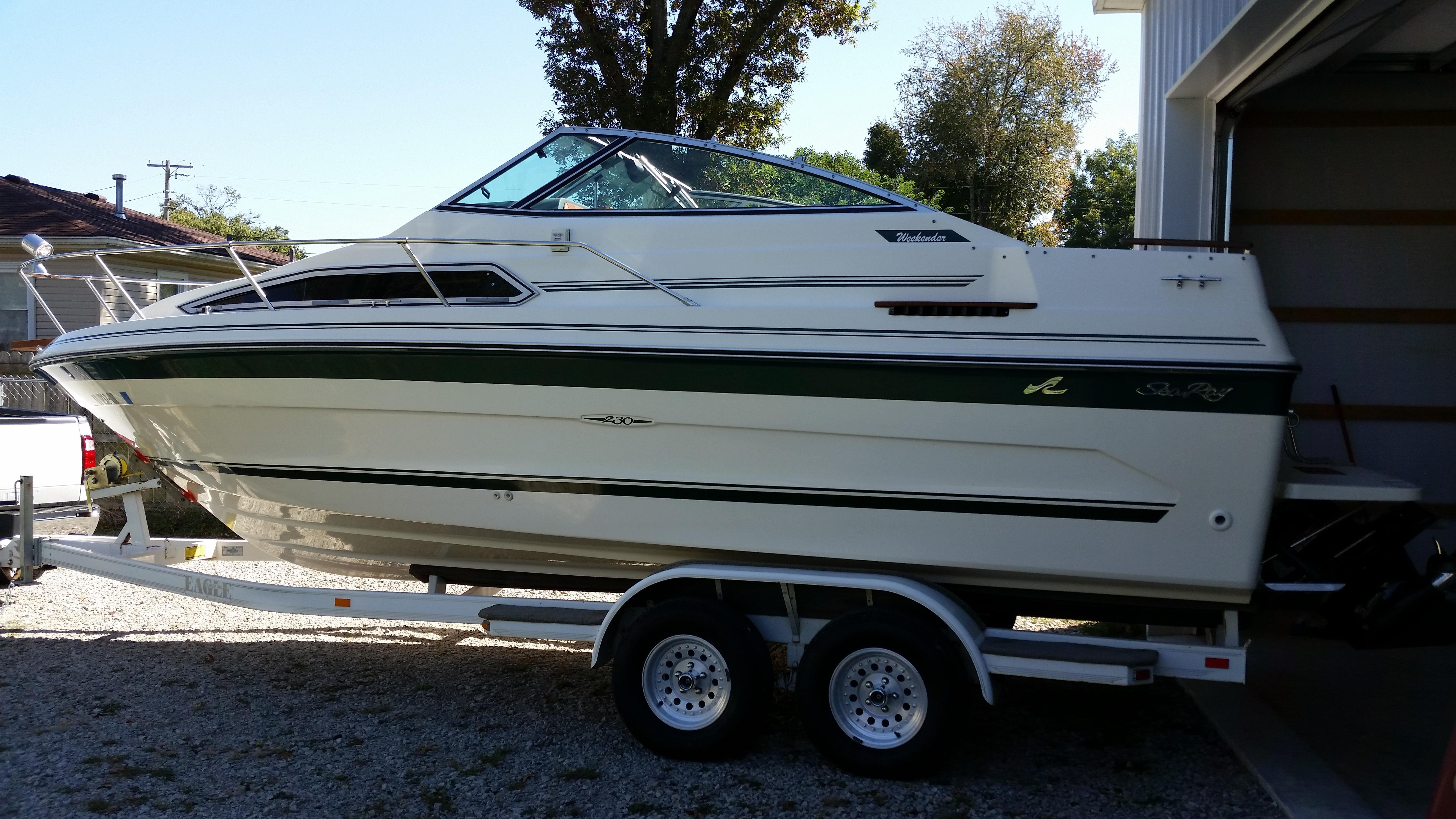 Searay 230 Weekender